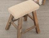 كرسيّ مختبر صلبة خشبيّة مربّعة ([م-إكس2118])