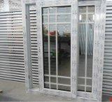 Impacto de huracanes/Sound-Proof estanca/Heat-Insulate Ventana deslizante de PVC con diseño de parrilla
