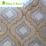 Дешевый красивейший Китай сделал мраморный водоструйную мозаику конструировать