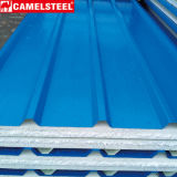 PPGI/PPGLの金属の屋根ふきシート鉄の鋼鉄タイルの波形の