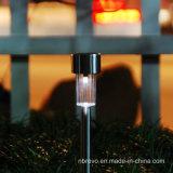 Luz solar 2017 del césped del jardín de la nueva Navidad para la decoración (RS001)