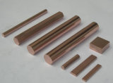 Wolfram-Kupfer Legierung Rod, Wcu runder Stab, Wolframecopper Rod