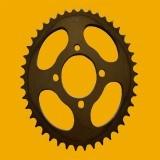 Qualitäts-Motorrad-Kettenrad/Gang/Kegelradgetriebe/Übertragungs-Welle/mechanisches Gear86