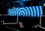 適用範囲が広いLEDのカーテンの表示LEDスクリーン/LEDの壁か段階の背景幕