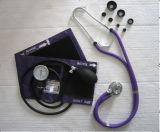 Jogo de Rappaport do Sphygmomanometer aneróide com estetoscópio