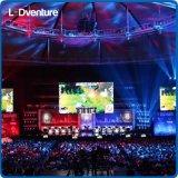 El panel a todo color de interior de los conciertos LED para el acontecimiento de alquiler