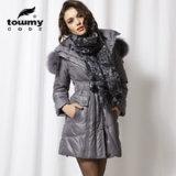 Les femmes d'hiver classique Down Coat avec Fox meilleure vente de fourrures Down Jacket de haute qualité Down Coat manteau d'hiver pour le marché européen