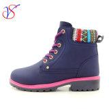 Работа деятельности безопасности 2017 новая женщин человека впрыски типа Boots ботинки для работы (СИНЬ SVWK-1609-015)