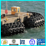pára-choque de borracha pneumático marinho de 80kpa Yokohama para ancorar do navio