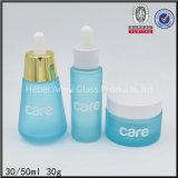 empaquetado cosmético de la loción de 15ml 30ml 50ml 80ml 90ml 100ml 120ml del envase redondo de la crema, acrílico cosmético de la botella
