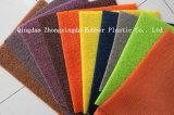 뒤 PVC 차 매트를 못을 박는 두 배 색깔 디자인