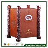 Diseño especial Caja de vino de Madera lacado mate