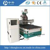 Пневматическая машина маршрутизатора CNC 3 головок деревянная для сбывания