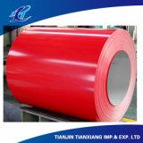 Prodotti piatti Ral3002 che coprono la bobina d'acciaio preverniciata del materiale basso