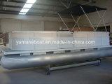 de Boot van de Rivier van het Ponton van het Aluminium van 5.2m met Elektrische Outboard
