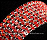 3mm Siam Kristallrhinestone-Ketterhinestone-Abschluss-Ketterhinestones-Ordnung (TCS-3mm Siam)