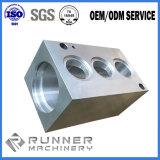 Peças de alumínio fazendo à máquina da precisão do CNC de Insutries e de instrumentos