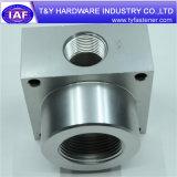 Peça de alumínio personalizada do CNC da alta qualidade prendedor especial
