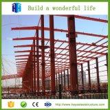 Surtidor prefabricado del abrigo de la vertiente y de la casa prefabricada de la estructura de acero del marco del espacio