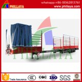 확장 가능한 평상형 트레일러 콘테이너 세미트레일러