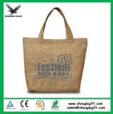 Protection personnalisée à l'environnement Protection Eco Jute Bag with Handle