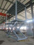 Levage hydraulique de stationnement de véhicule de ciseaux de charge lourde à vendre