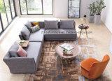 Eco New Fabric Living Room Canto Seccional Sofá Móveis