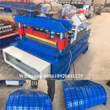 Máquina que prensa de la hoja de acero del material para techos