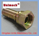 황색 또는 White Zinc Plated Male/Female Thread Hydraulic Fittings/Adapters