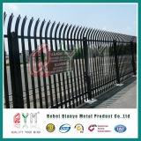 Cercas e portas de aço do Palisade do metal com alta qualidade