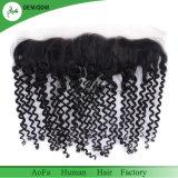 El pelo profundo 13X4 frontal de la onda del pelo brasileño sin procesar de la Virgen vende al por mayor