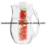 Jarco de leite plástico com liquidação quente com infusor