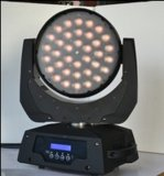 Cabezal movible Zoom Fase Lighitng Bombilla de luz LED