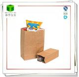 Kraftpapier-Papiertüten-/Kraft-Lebensmittelgeschäft-Beutel