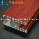 Perfil de aluminio del OEM 6063 T5 Extruted del material de construcción para la puerta de la ventana