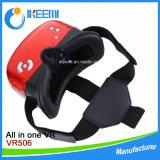 1 Vrのヘッドセットのシンセンの人間の特徴をもつWiFi Bluetooth Vrボックス3Dガラスのすべて