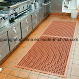 Stuoia di gomma della stanza da bagno che collega le stuoie antiscorrimento della cucina della stuoia di gomma antistatica