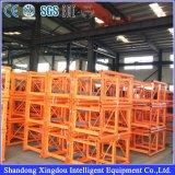 Sc200/200 2000kg 수용량을%s 가진 2 톤 건축 호이스트