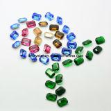 De Eerlijke Decoratieve Achter Glanzende Losse Diamant Ponit van het kanton voor het Maken van Juwelen