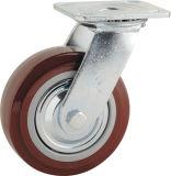 Hochleistungstyp neue doppelte Pedal-Bremse PU-Fußrolle (KHX3-H1-A)