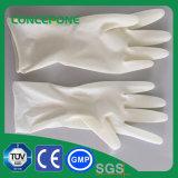 De vrije Handschoenen van het Latex van het Poeder Medische