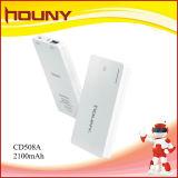 Banco de alimentação bateria de polímero de venda quente 2100mAh de capacidade (CD508A)