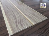 SGS панели стены ISO9001 потолка PVC паза деревянного цвета средний