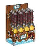 Piraten-Serien-Kind-Spielzeug-Plastik und Metallklinge mit der hellen Musik angeschalten durch 2 AAA die Batterie