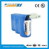 3.6V 54ah Er34615-3 Lithium-Batterie-Satz für Bereich der Hydrologie-Überwachung-Instrumente