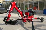 Towable Backhoe ATV van de aanhangwagen met Goedgekeurd Ce