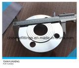 DIN2543 Pn16 forjó el borde inoxidable del tubo de acero de la placa