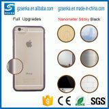 Caso transparente antigravedad de TPU para la cubierta del iPhone 8
