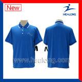 Camisas de polo do Sublimation da tinta da importação