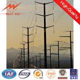 33kv poteau d'acier électrique de la ligne de transmission